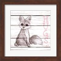 Fox Hugs Fine Art Print