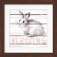 Rabbit Blessing Fine Art Print