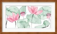 Lotus in Nature I Fine Art Print