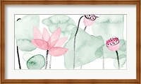 Lotus in Nature IV Fine Art Print