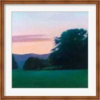 Lawn at Twilight Fine Art Print
