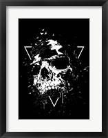 Skull X BW Fine Art Print