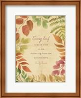 Every Leaf Fine Art Print