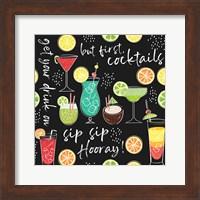 Sip Sip Hooray Pattern III Fine Art Print