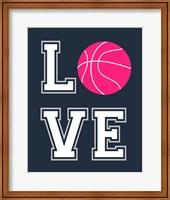 Love Basketball Fine Art Print