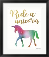 Ride a Unicorn Fine Art Print