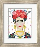 Homage to Frida Bright Fine Art Print