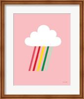Rainbow Rays I Fine Art Print