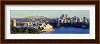 Scenic View Of Sydney Opera House, Sydney, Australia Fine Art Print