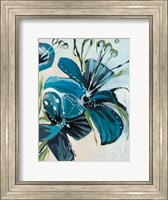 Flowers of Azure I Fine Art Print