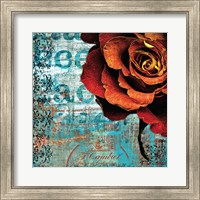 Graffiti Rose Fine Art Print