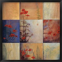 Fern Nine Patch Fine Art Print