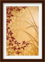 Golden Flourish II Fine Art Print