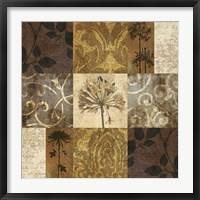 Floral Nine Patch Fine Art Print