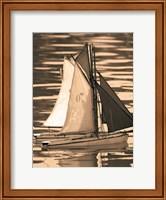 Les Petits Bateaux II Fine Art Print