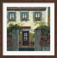 Three Windows Fine Art Print
