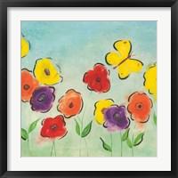 Flowering Garden I Fine Art Print