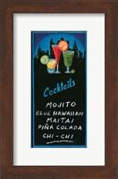 Cocktails Fine Art Print