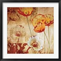 Poppy Heat I Fine Art Print