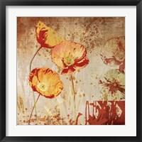 Poppy Heat II Fine Art Print