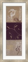 Paisley and Plum II Fine Art Print