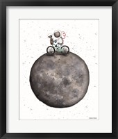 Bike on Moon Fine Art Print