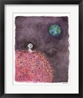 Sitting on a Flower Moon Fine Art Print