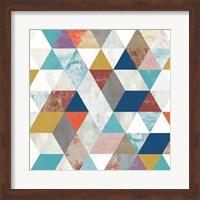 Bright Mosaic II Fine Art Print