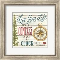 Compass Not a Clock Fine Art Print