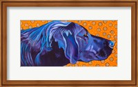 Lab With Orange Fine Art Print