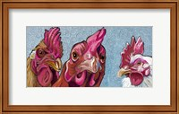 Three Chicks Fine Art Print