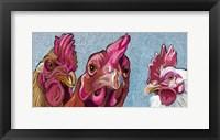 Three Chicks Fine Art Print