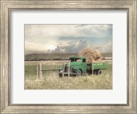 Hay for Sale Fine Art Print