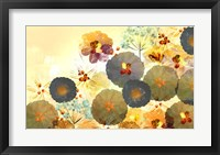 Textured Hedgerow Rust Landscape Fine Art Print