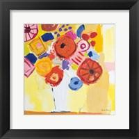 Floral Collage Fine Art Print