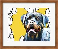 Pop Dog III Fine Art Print