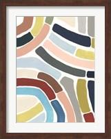 Mosaic Curve I Fine Art Print