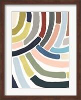 Mosaic Curve II Fine Art Print