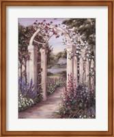Garden Escape II Fine Art Print