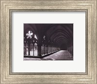 Eng. Cathedral Salisbury Cloisters Fine Art Print