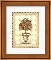 Terrace Topiary I Fine Art Print