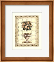 Terrace Topiary II Fine Art Print