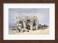 Temple of Sobek and Haroeris at Kom Ombo, 19th century Fine Art Print
