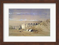 Lateral View of the Temple called Typhonaeum at Dendera, Egypt, 19th century Fine Art Print