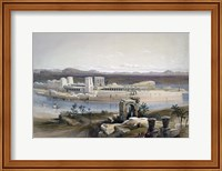 General View of the Island of Philae, Nubia, 1838 Fine Art Print