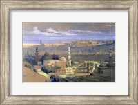 Cairo from the Gate of Citizenib, 19th century Fine Art Print