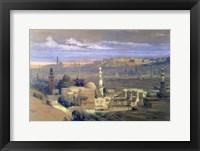 Cairo from the Gate of Citizenib, 19th century Fine Art Print
