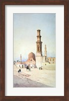Tomb of the Califes, Cairo, c1907 Fine Art Print