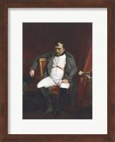 Napoleon at Fontainebleau, (1845) Fine Art Print