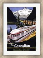 Canadian Pacific Train 1955 Fine Art Print